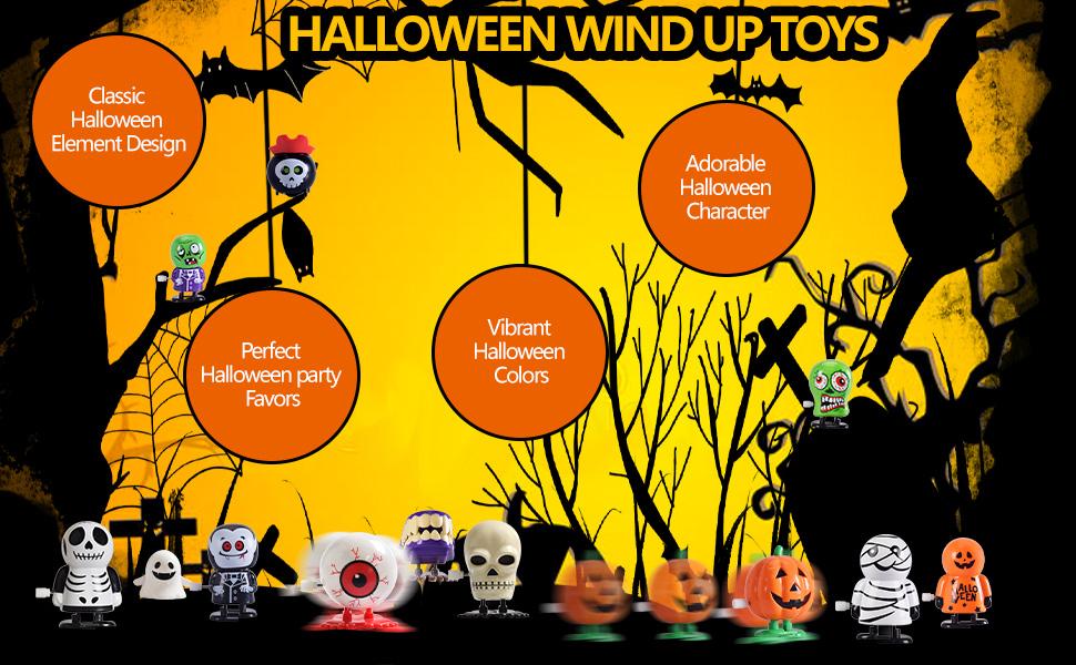 Halloween party toys set