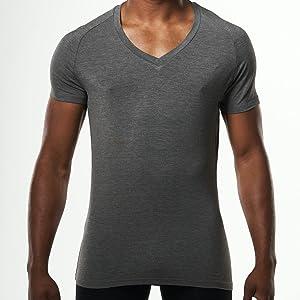 tailored cut undershirt