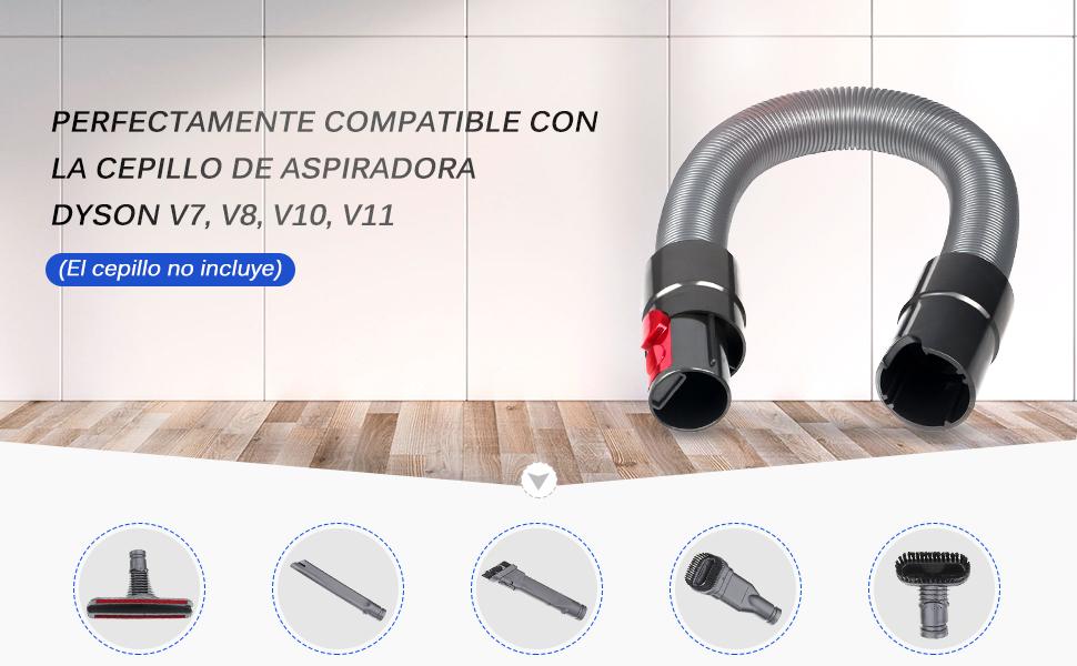 SAFETYON Manguera de Extensión para Aspiradora Dyson V7 V8 V10 V11 ...
