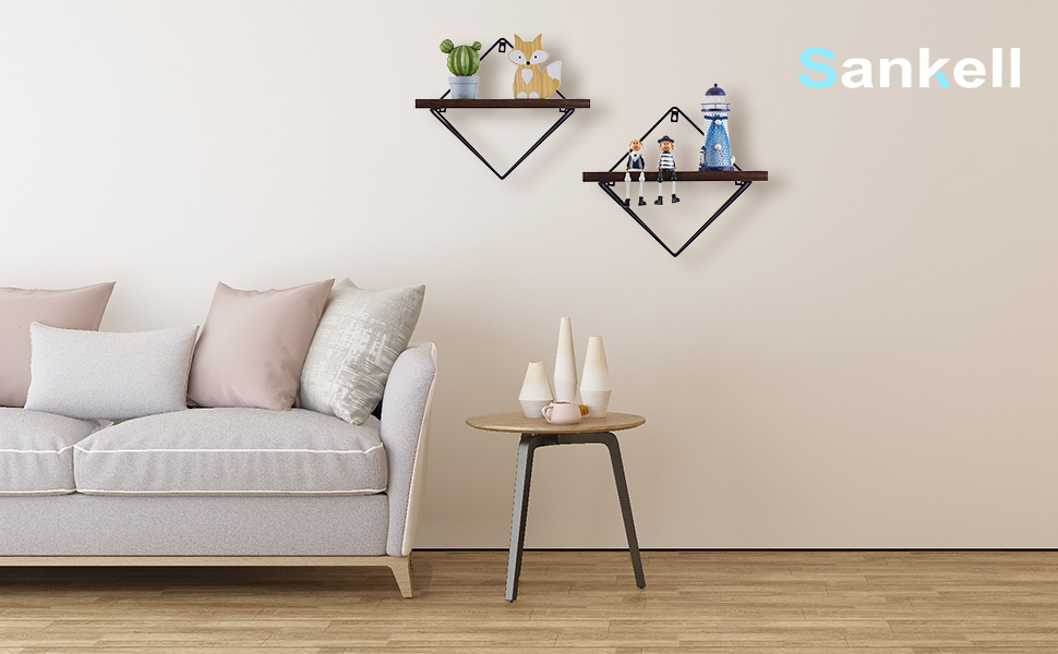 geometric wall decor, geometric wall shelf, geometric shelves, geometric shelf, shelve decor