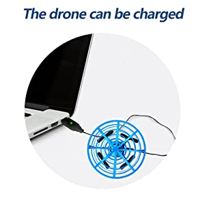 rechargeable ufo drone