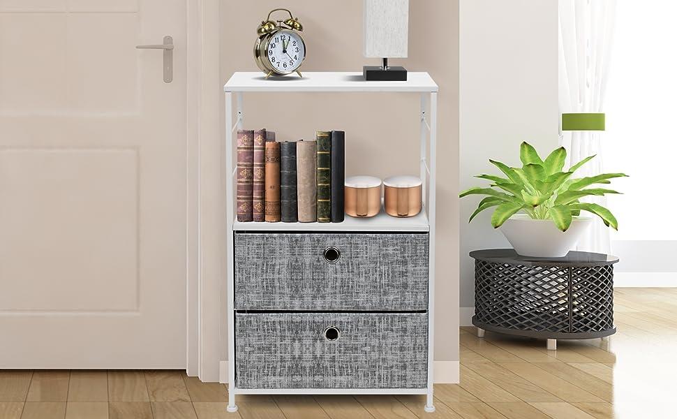 dresser nightstand shelf
