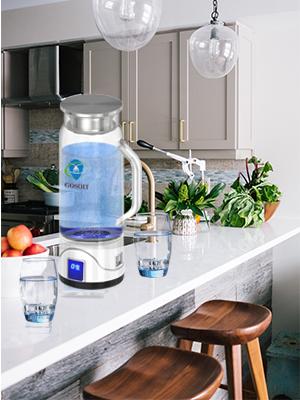 Hydrogen water pitcher