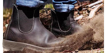 abrasion-resistant work boots