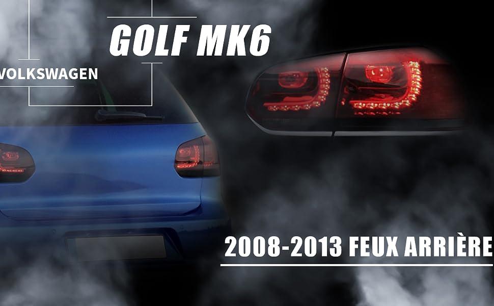 DEL FEU ARRIERE Queue Lumière Feu Arrière extérieur gauche VW