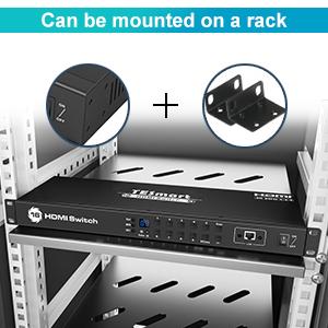 Standard 1U 19-inch Rack Mount
