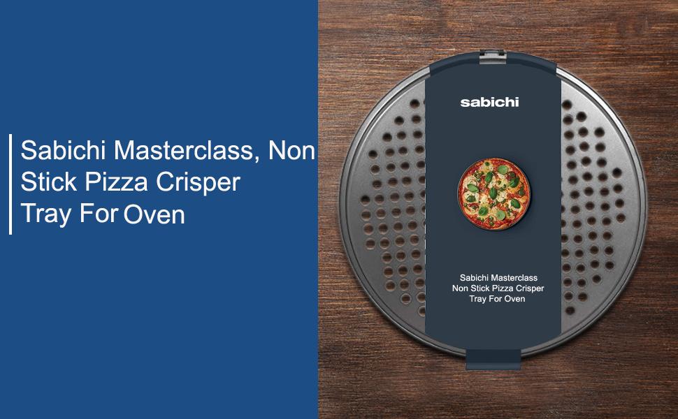 Sabichi MasterClass Non Stick Pizza Crisper Tray for Oven