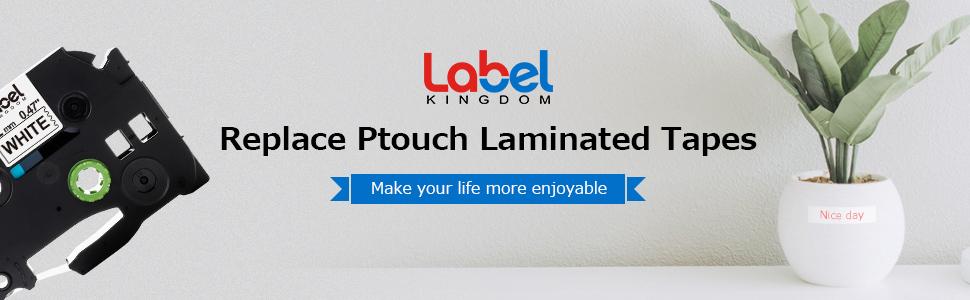 5-Packung TZe Laminiertes Schriftband 12mm f/ür Brother P-touch TZe Schriftband TZe-231 TZe-MQG35 TZe-MQP35 TZe-MQ934 Etikettenband Kompatible mit P-touch H100LB P750W D200 E100 H105WB D400VP