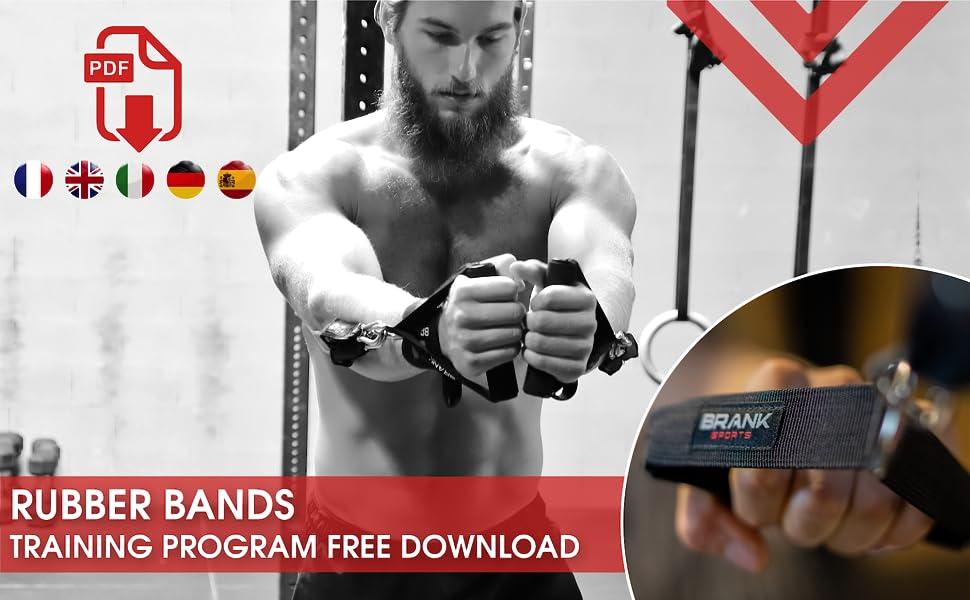 Specifieke trainingsgids voor weerstandsbanden met handgrepen