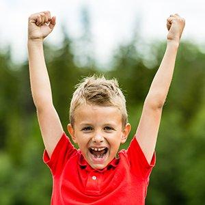 kid happy