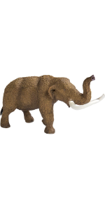 woolly, mammoth, mastodon, prehistoric, elephant, dino, figure, toy, replica
