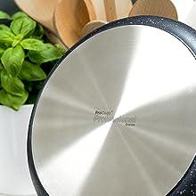 antiadhésif anti-éraflure compatible  induction qualité supérieure cuisson solide durable