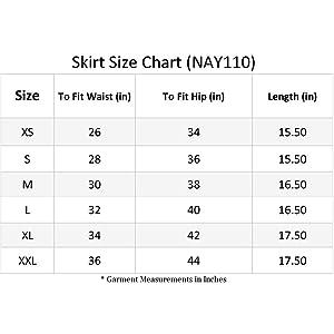 skater skirt size,size chart skirts,skater flared skirt sizes,size guide skirt,mini skater skirt