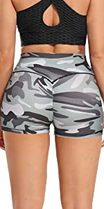 Camo Style Booty Gym Shorts