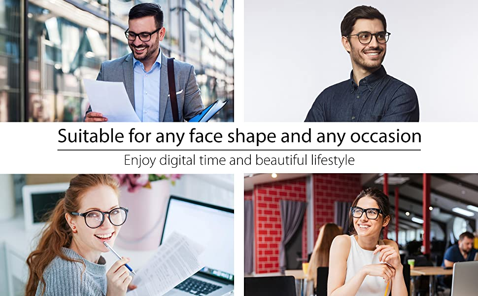 suitable for all face shape