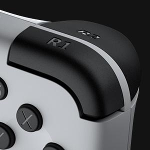Shoulder buttons