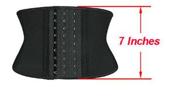 7 Inches Short Torso Waist Trainer