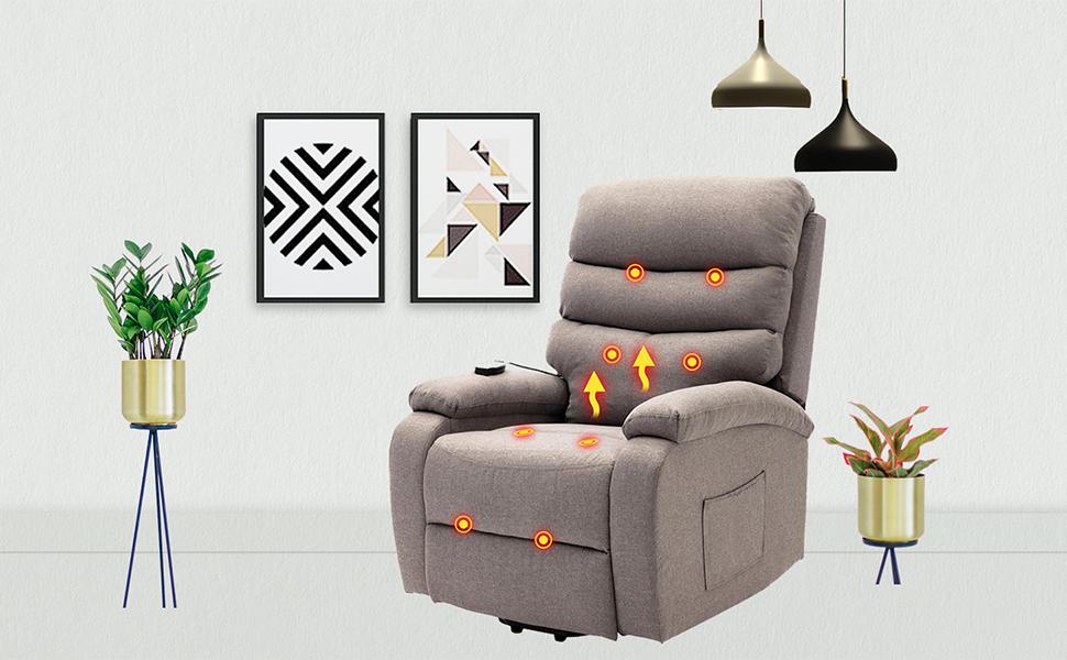 massage sofa for living room