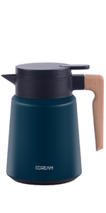 34 oz coffee carafe, carafe for ice drink, carafe for cold, keep hot,green coffee carafe