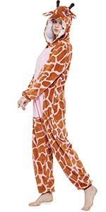 Giraffe Onesie for adult