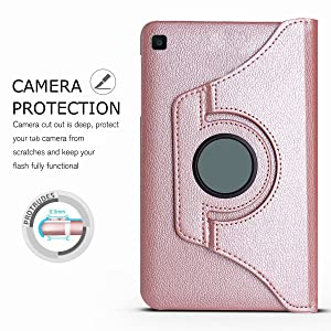 samsung galaxy tab a 10.1 2019 cover SM-T510 SM-T515 SM-T517 360 Degree Rotating Leather Smart Case