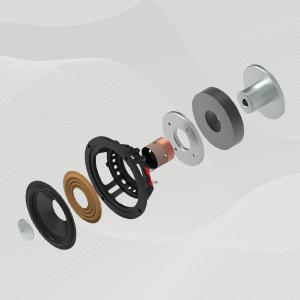 Hi-Res Audio Certified Active Speaker System Built-in Amplifier Optical Bluetooth 5.0 aptX AUX PC