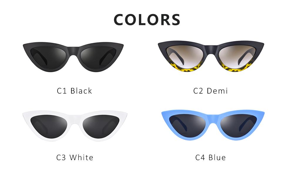 Mosanana Trendy Cateye Sunglasses for Women Cool Stylish Sunnies MS51810