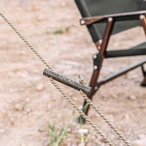 ロープ止め金具