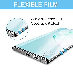 Display Protector Glass Temforato Samsung Galaxy Note 10 Flexy Glass