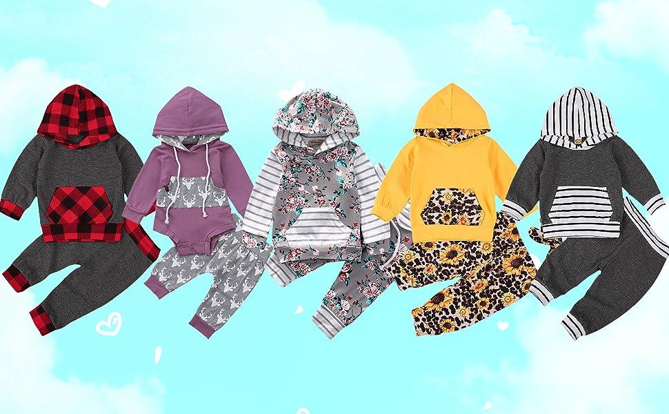 Newborn Baby Sweatshirt Clothes