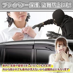 プライバシー保護!盗難防止に!