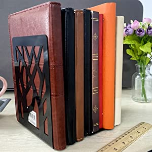 Metal Bookends for Heavy Books