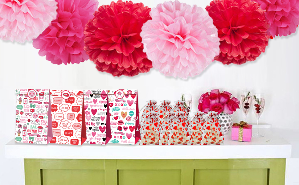 drawstring birthday gift bags
