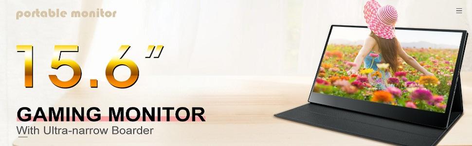 Portable Monitor,Uniway 15.6 Inch