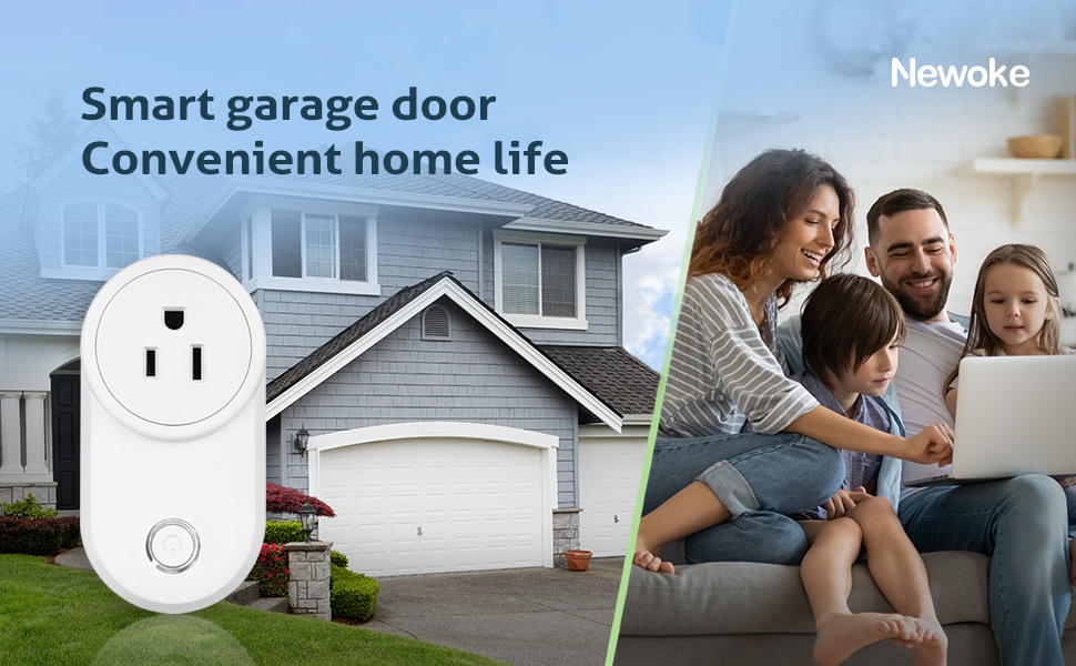 smart garage door opener remote