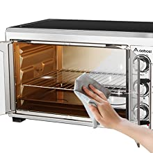 Toaster Convection Oven Countertop Toaster Oven Rotisserie Oven Pizza Oven French Single Door