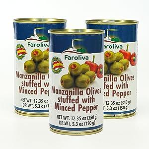 olives pepper
