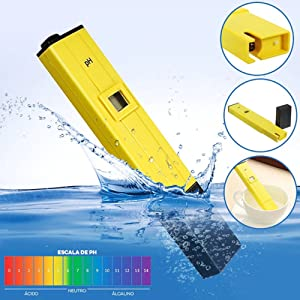 PH Meter with Calibration Accessories