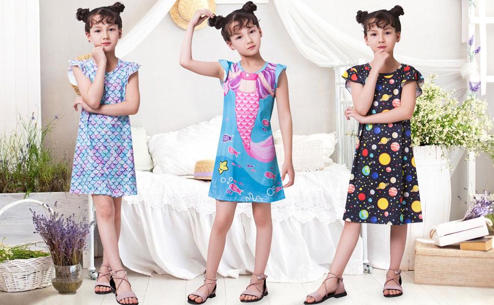 Mädchen Nachthemd