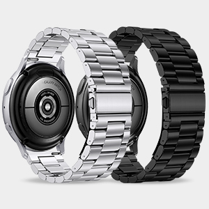 20mm Metal Bands Set for Galaxy Watch Active 2/Active/Galaxy Watch 3 41mm