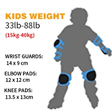 Protective Gear Set Knee Pads for Kids