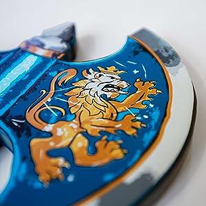 lion motif