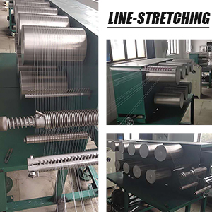 Line Stretching Progress