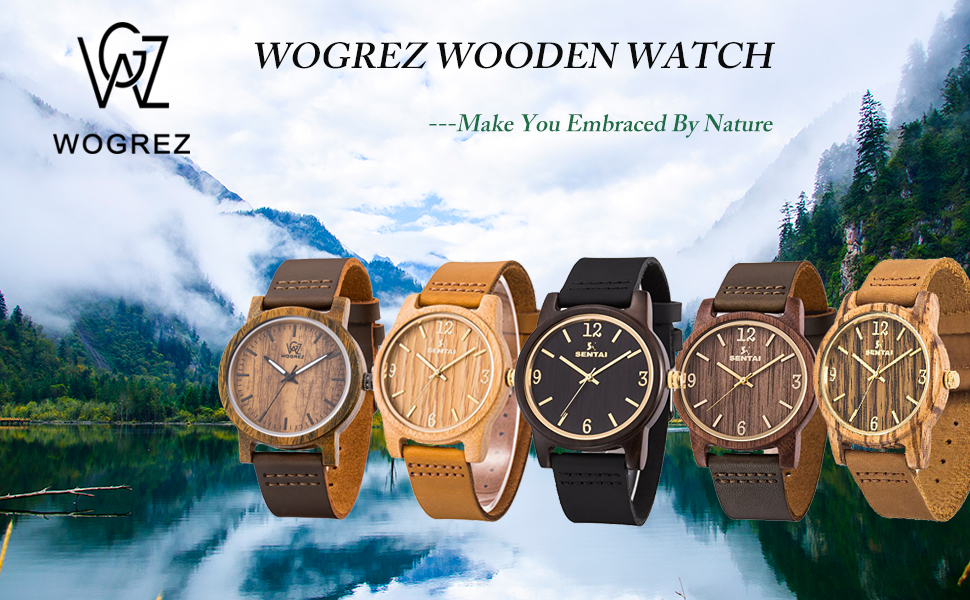 wogrez wooden watch