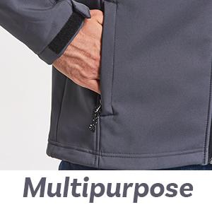 baleaf mens softshell jacket