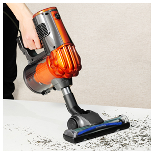 iwoly V600 Vacuum Cleaner 600W Lightweight Corded Bagless Stick and Handheld Vacuum with Cyclone HEPA Filtration