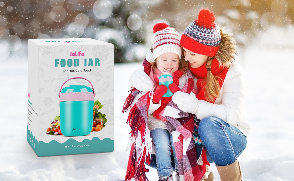insulated food jar for hot food cold food soup coffee water liquid