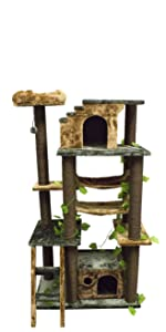 CozyCatFurniture Cat Tree Furniture for Large Cats