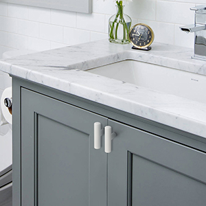 Probrico 15 Pack White Kitchen Cabinet Pulls 3 3 4 Inch Euro Style T Bar Handles Cupboard Stainless Steel Modern Cabinet Hardware Amazon Com