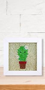 diamond painting cactus